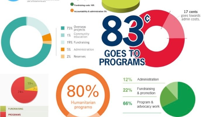 Cost of Fundraising Infographic